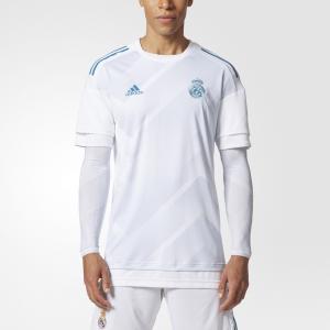 Домашняя предматчевая футболка Реал Мадрид Performance adidas. Цвет: белый