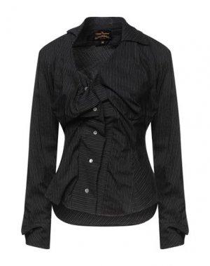 Pубашка VIVIENNE WESTWOOD ANGLOMANIA. Цвет: стальной серый