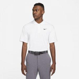 Мужская рубашка-поло для гольфа Dri-FIT - Белый Nike