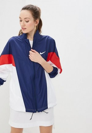 Ветровка Nike SPORTSWEAR WINDRUNNER WOMENS JACKET. Цвет: синий
