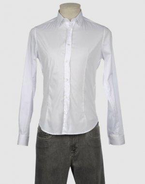 Рубашка с длинными рукавами MASTER COAT. Цвет: белый