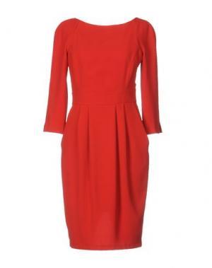 Платье до колена BETTY BLUE. Цвет: красный