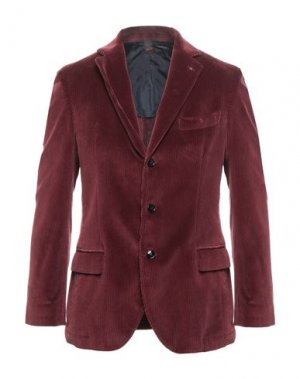 Пиджак MP MASSIMO PIOMBO. Цвет: красно-коричневый
