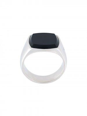 Перстень с ониксом Tom Wood. Цвет: золотистый