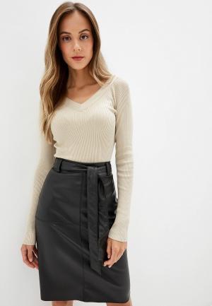 Пуловер Jacqueline de Yong. Цвет: бежевый