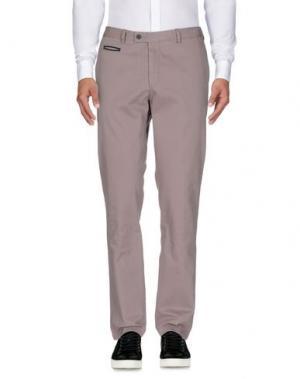 Повседневные брюки DIMENSIONE. Цвет: голубиный серый
