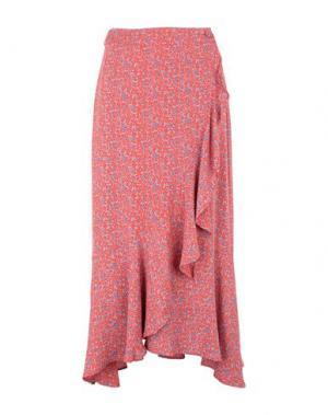 Длинная юбка 2ND DAY. Цвет: красный