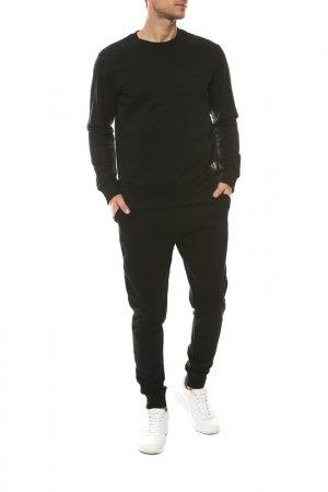 Брюки спортивные Calvin Klein. Цвет: черный