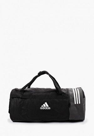 Сумка спортивная adidas 3S CVRT DUF L. Цвет: черный
