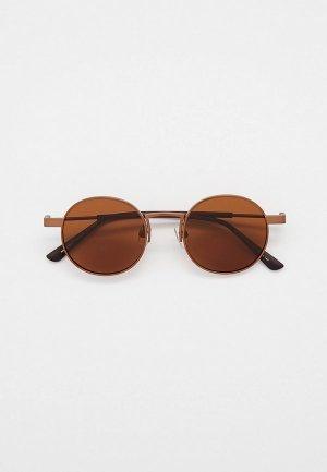 Очки солнцезащитные Matrix MT8670, с поляризационными линзами. Цвет: коричневый