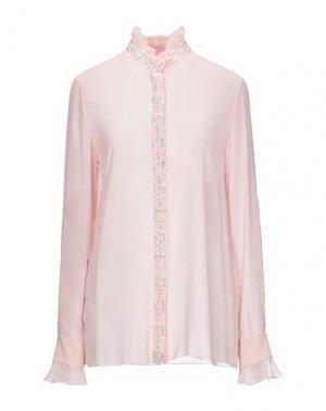 Pубашка GIAMBATTISTA VALLI. Цвет: светло-розовый