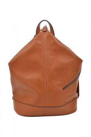 Backpack CARLA FERRERI. Цвет: brown