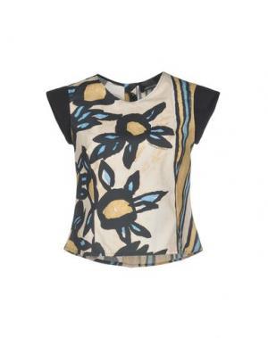 Блузка LORELLA SIGNORINO. Цвет: слоновая кость