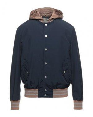 Куртка ELEVENTY. Цвет: темно-синий