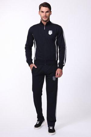 Спортивный костюм Frankie Morello. Цвет: синий