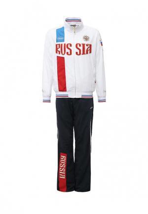 Костюм спортивный Forward Russia. Цвет: белый