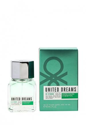 Туалетная вода United Colors of Benetton Dreams BE STRONG 60 мл