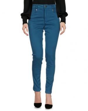 Повседневные брюки CRISTINAEFFE. Цвет: цвет морской волны