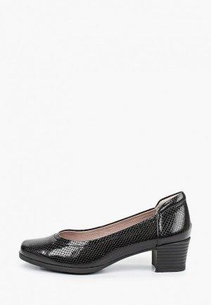 Туфли Zenden Collection полнота E (5). Цвет: черный