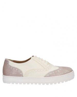 Обувь на шнурках LAURA BELLARIVA. Цвет: белый