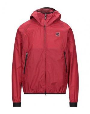 Куртка ADHOC. Цвет: красно-коричневый