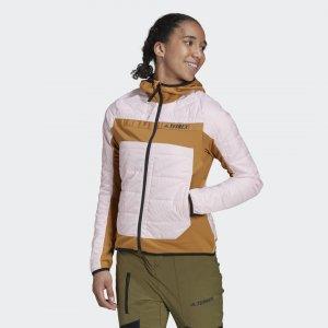 Утепленная куртка Terrex Multi Primegreen Hybrid adidas. Цвет: розовый