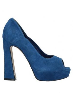 Туфли SGN GIANCARLO PAOLI. Цвет: синий