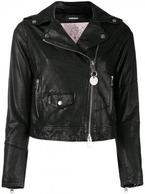 L-Sery jacket Diesel. Цвет: черный