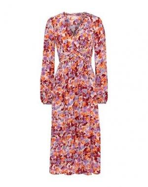 Платье длиной 3/4 byTIMO. Цвет: розовый