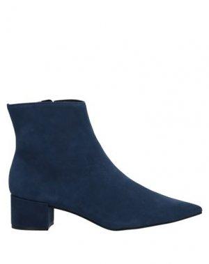 Полусапоги и высокие ботинки CARRANO. Цвет: грифельно-синий