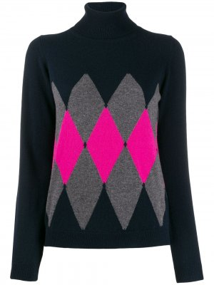 Argyle knit jumper Ballantyne. Цвет: синий
