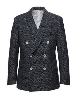 Пиджак GIORGIO ARMANI. Цвет: темно-синий