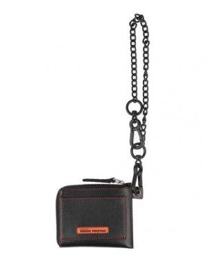 Бумажник HERON PRESTON. Цвет: черный