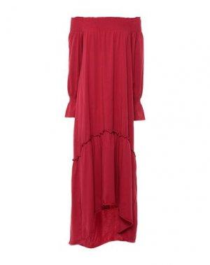 Платье до колена ALPHA STUDIO. Цвет: красный