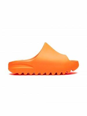 Шлепанцы Enflame Orange adidas YEEZY. Цвет: оранжевый