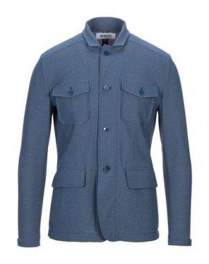 Пиджак DISTRETTO 12. Цвет: грифельно-синий