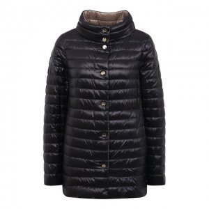 Пуховая куртка Herno. Цвет: чёрный