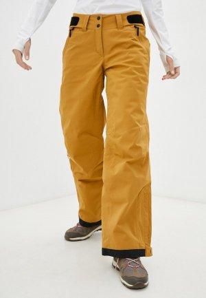 Брюки горнолыжные adidas W RST 2L STR P. Цвет: коричневый