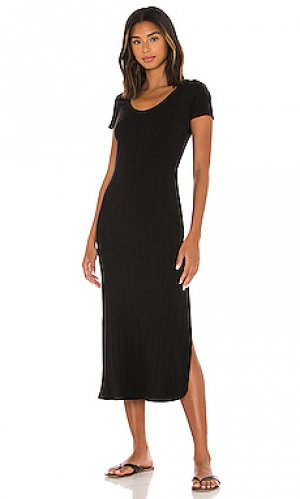 Платье-футболка catalina vitamin A. Цвет: черный