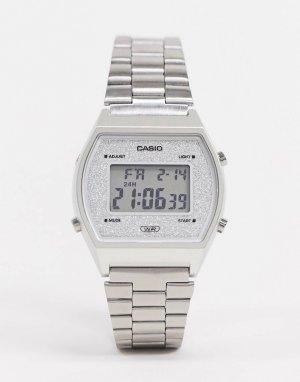 Цифровые часы -Серебряный Casio