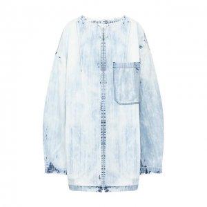 Джинсовая куртка Yohji Yamamoto. Цвет: синий