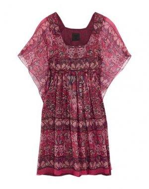 Короткое платье ANNA SUI. Цвет: фуксия