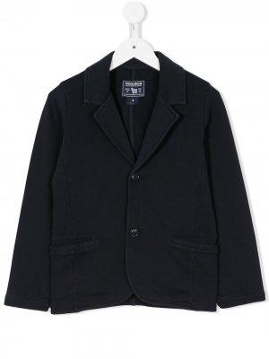 Пиджак на двух пуговицах Woolrich Kids. Цвет: синий