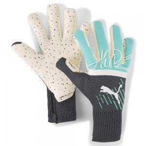 Вратарские перчатки FUTURE Z Grip 1 Hybrid Goalkeeper Gloves PUMA. Цвет: зеленый