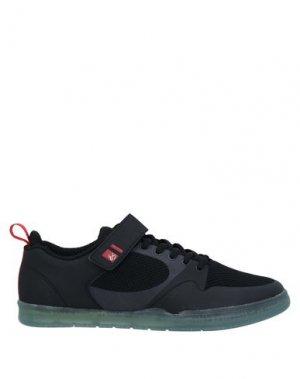 Кеды и кроссовки ÉS. Цвет: черный
