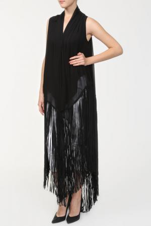 Блуза GARETH PUGH. Цвет: черный