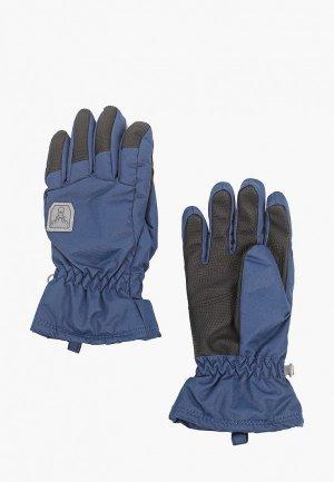 Перчатки Hofler. Цвет: синий