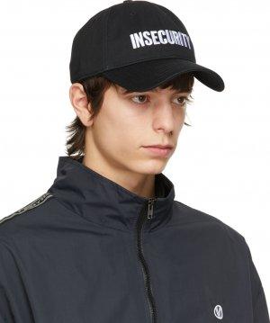 Black Insecurity Cap VETEMENTS. Цвет: black 14620011