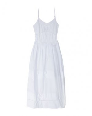 Длинное платье SISTE' S. Цвет: белый