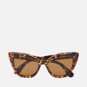 Солнцезащитные очки Laiya Polarized Oliver Peoples. Цвет: коричневый